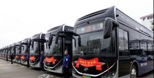 常熟市20辆氢能源公交车正式投运