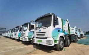 广州黄埔发布全球首批氢燃料电池泥头车,年碳排放可减3.5万吨